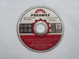 DISCOS DE CORTE 4,5 'NOVOS' - PARAMAX